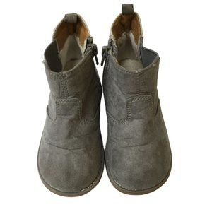 H&M Grey & Silver Girls Size 7.5 Boots
